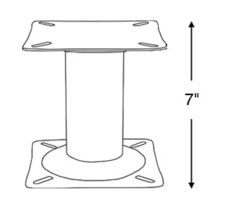 Chaise Boot jambe 17,5 cm