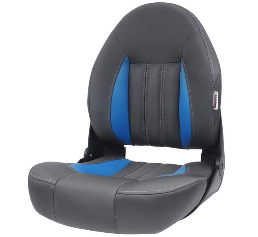 ProBax® Hoch zurück Stiefel Stuhl blau / grau