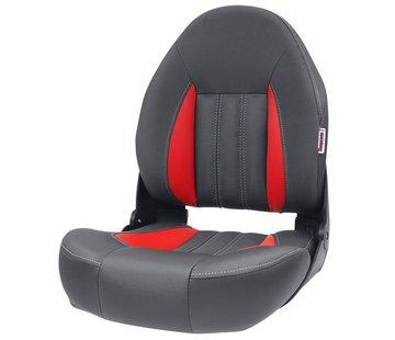 Tempress ProBax® Hoge rug Bootstoel Rood/Grijs
