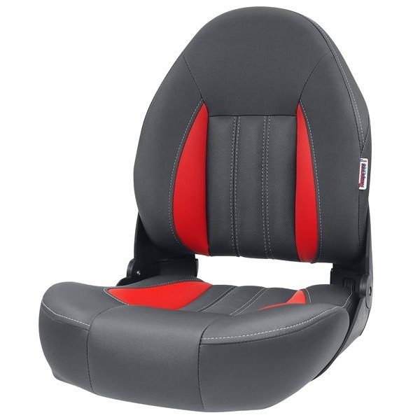 Tempress ProBax® High Back Boots-Sitz Rot / Grau
