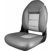 Tempress Navi Style ™ Hög Back Boat Seat Charcoal / Silver