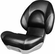 Tempress High Back Boat Seat Tempress® Centric ™ II Black / Wave Rocket