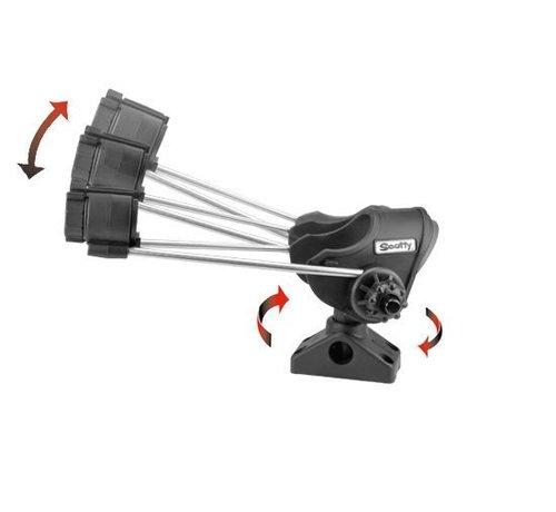 Scotty 240 Striker Rod Holder With 241 Side Deck Mount