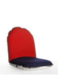 Comfort Seat Adventure Compact Vermillion Red-Blue