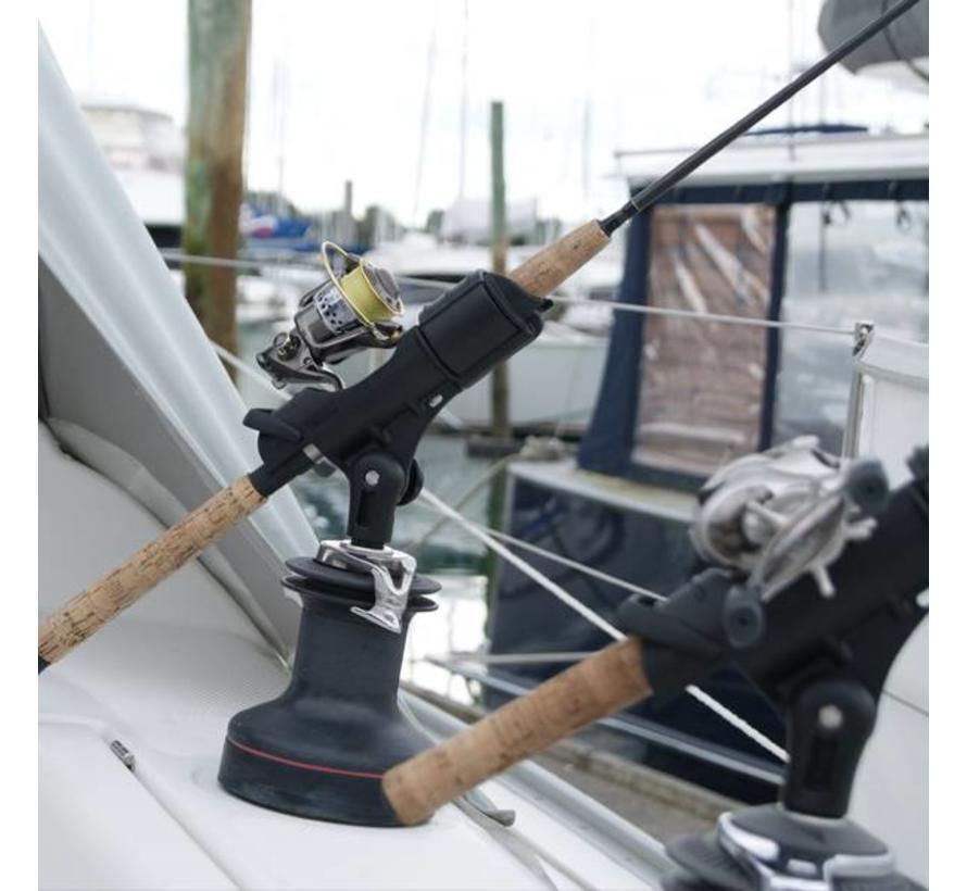 Hengel Houder II StarPort kit Zwart