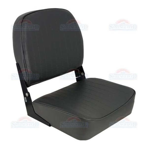 Springfield Economy Low Back Boat Seat Charcoal