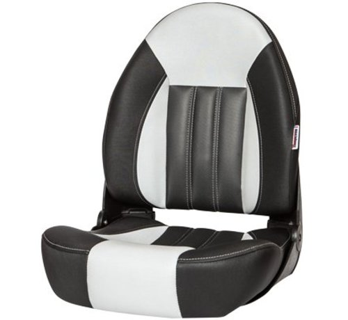 Tempress ProBax® High back boat chair Black/Gray/Carbon