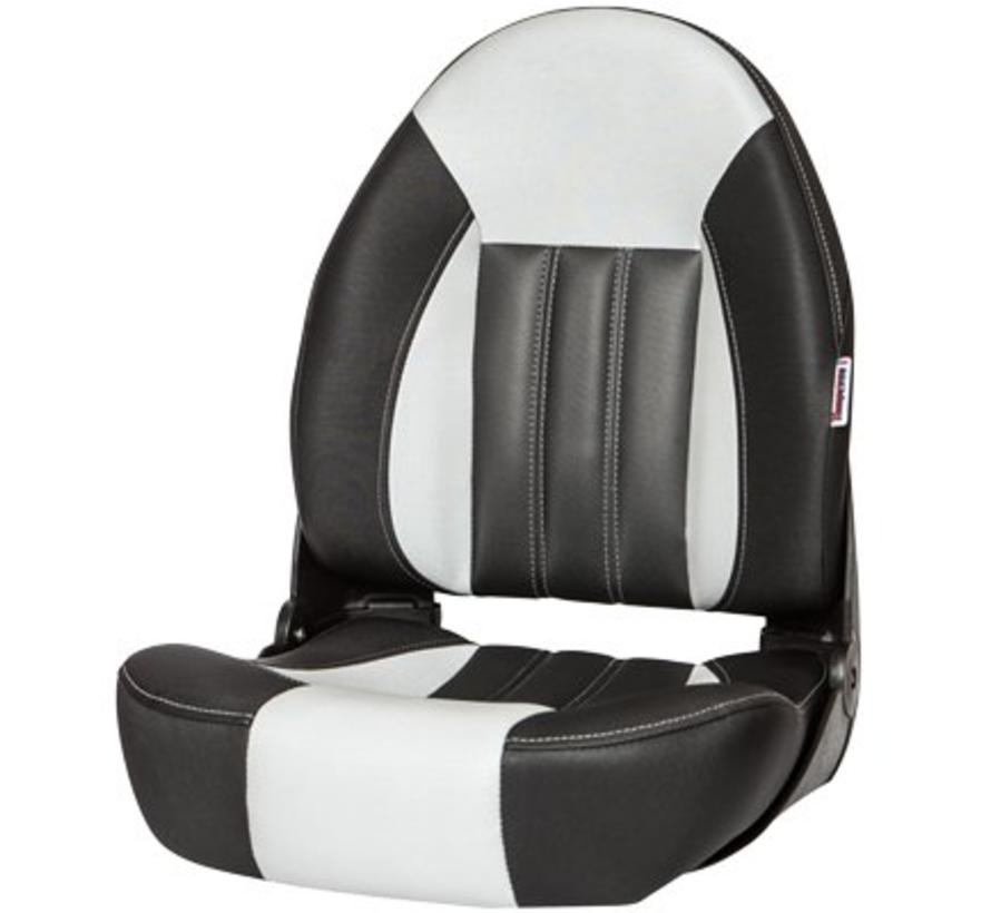 ProBax® High back boat chair Black/Gray/Carbon