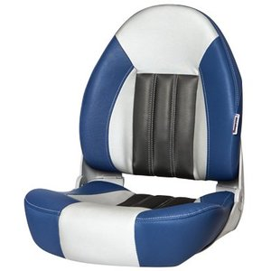 Tempress ProBax® High back boat chair Blue/Gray/Carbon