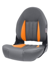 Tempress ProBax® High back boat seat Orange/Charcoal