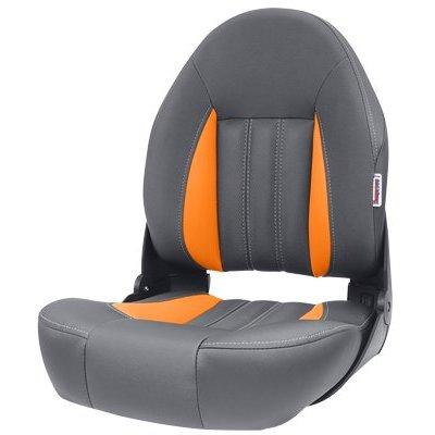 Tempress ProBax® Hoch zurück Stiefel Stuhl Orange/Charcoal