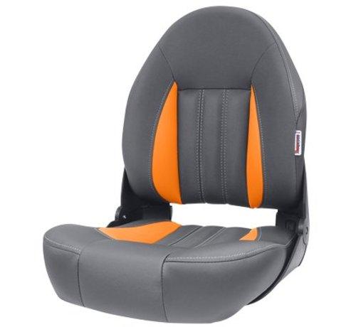 Tempress ProBax® High back boat seat Orange/Charcoal