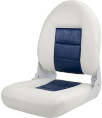 Tempress Navi Style ™ High Back Chair Boot White / Blue