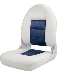 Tempress Navi Style High Back Chair Boot White / Blue
