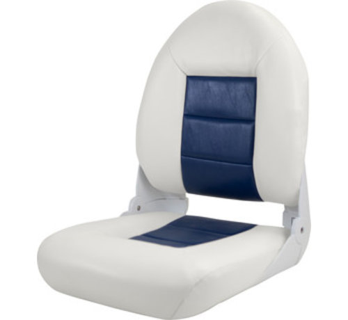 Tempress Navi Style ™ Hög rygg stol Boot White / Blue