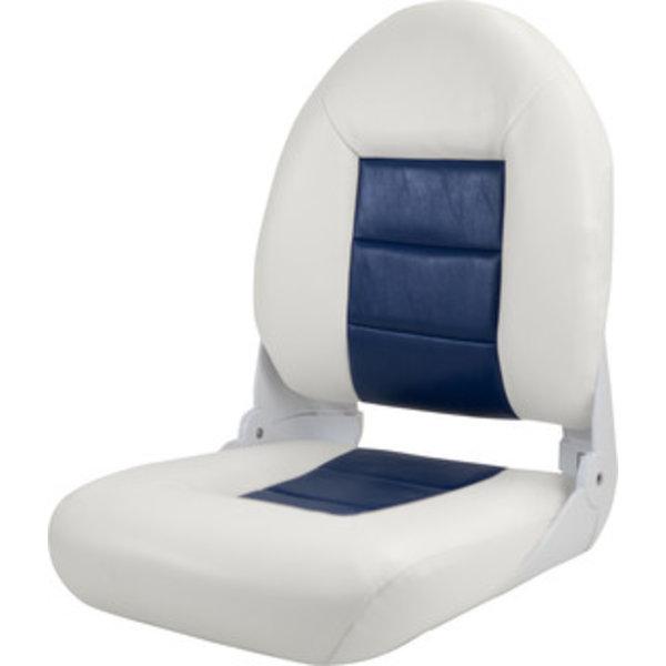 Tempress Navistyle High Back Boat Chair White / Blue