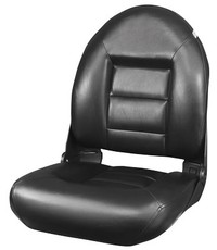 Tempress Navistyle ™ High Back Boat seat All Black