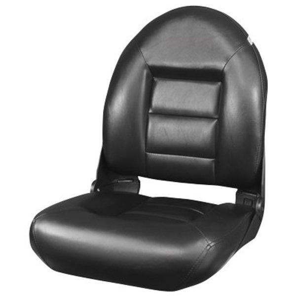 Tempress Navistyle High Back Boat seat All Black