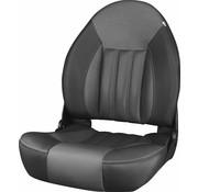 Tempress ProBax® Hoch zurück Stiefel Stuhl Black/Charcoal