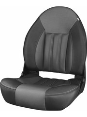 Tempress ProBax® High back boat seat Black/Charcoal