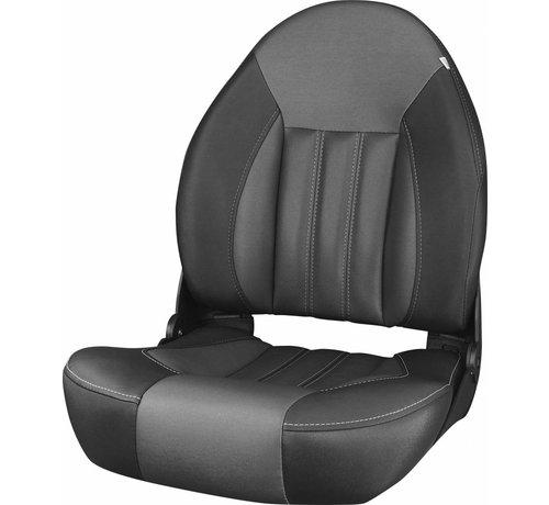 Tempress ProBax® High back boat seat Black/Charcoal