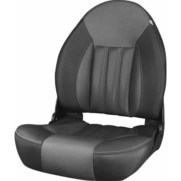 Tempress ProBax® Hoge rug Bootstoel Black/Charcoal
