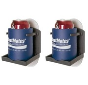 BoatMates Drink Holder Graphite Twin Pack 2 pièces