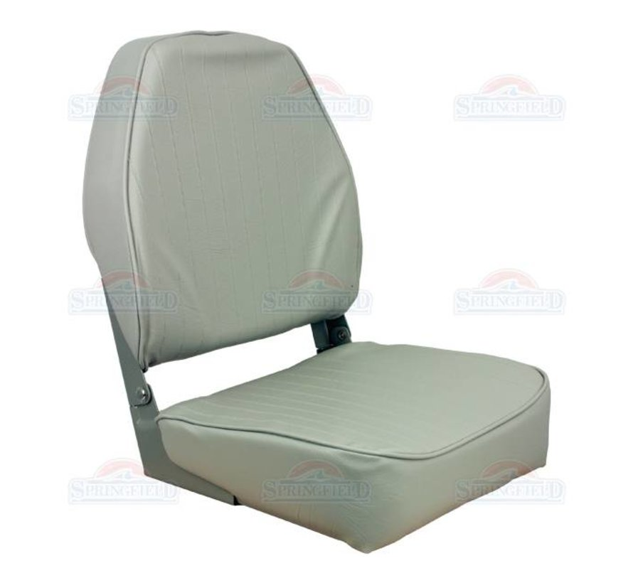 Economy Highback chair boat Gray