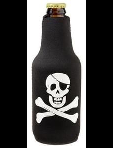 BoatMates Bottle Buddy Zwart Piraat