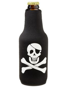 BoatMates Bottle Budy - BLACK - PIRATE