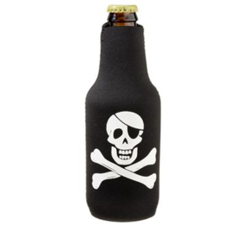 BoatMates Bottle Budy - BLACK - PIRATE