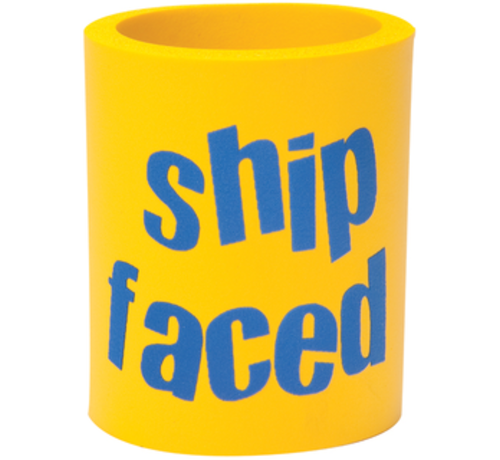 BoatMates Can Cooler Shipfaced Geel/Blauw