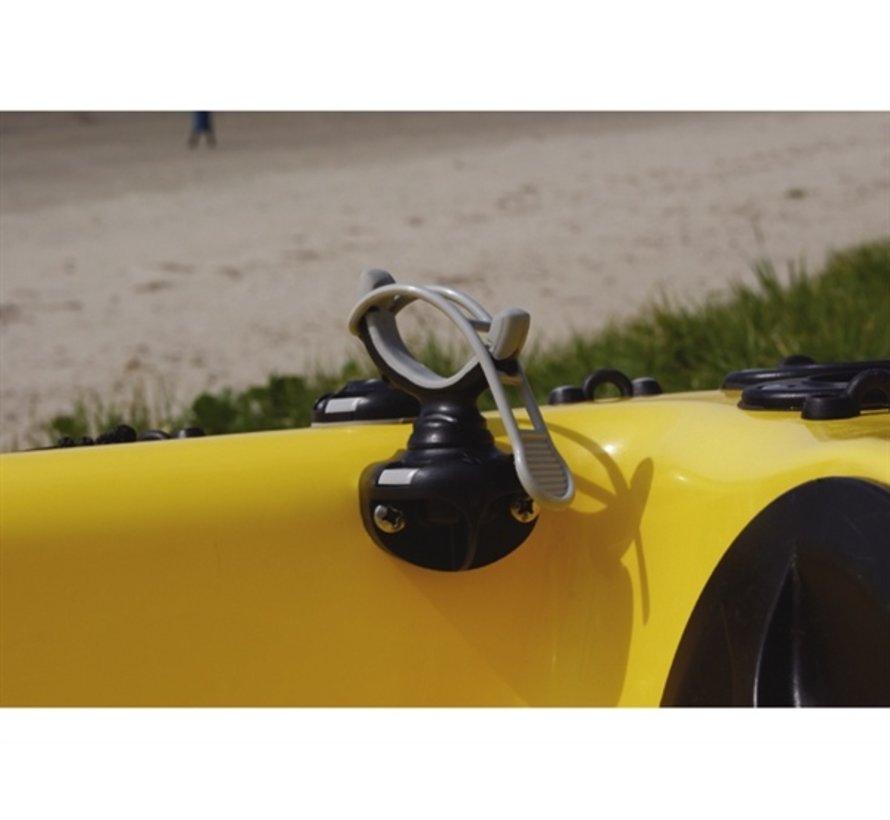 G-Hold 35 mm enkel Schwarz