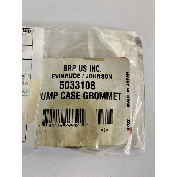 OMC Pump case grommet