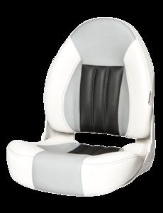 Tempress ProBax® Hoch zurück Bootssitz White/Gray/Carbon