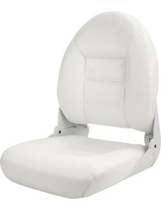 Tempress Navistyle High Back Boat seat White