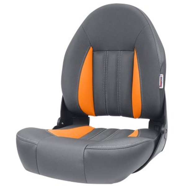 Tempress ProBax® Hoge rug Bootstoel Orange/Charcoal **