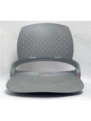Attwood Venture Folding Fishing Seat Shell Gray