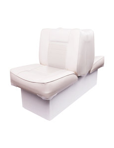 Eggers Back to Back Boat Seat White