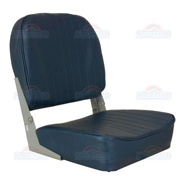 Springfield Economy Low Back Boat Seat Blue
