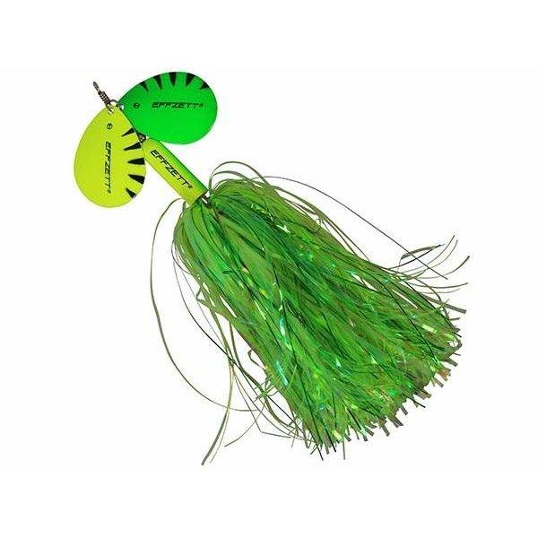 Effzett Pike Rattlin' Spinner 6 40gr Fluo Yellow/Green