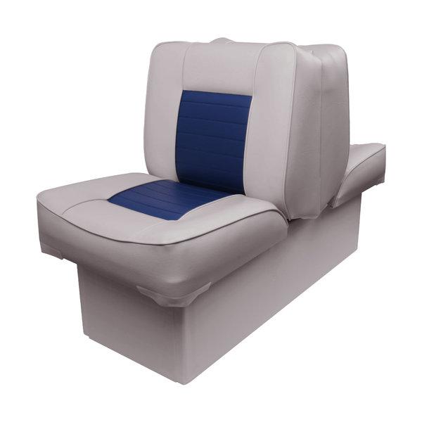 Eggers Rug aan rug bootstoel Grijs/Blauw