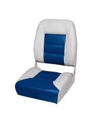 Eggers Comfort High Back Boat Seat Gray/Blue
