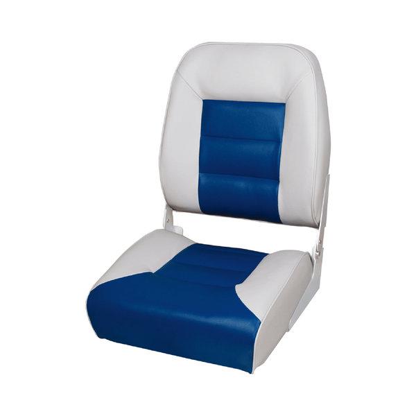 Eggers Comfort High Back Boat Seat Gray/Blue