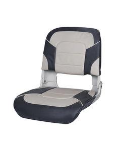 Eggers Folding Boat Seat Gray/Charcoal