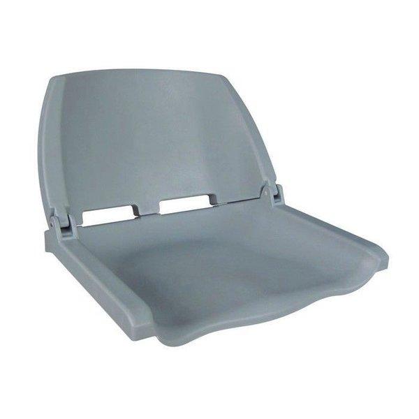 Eggers Folding Poly Seat Gray