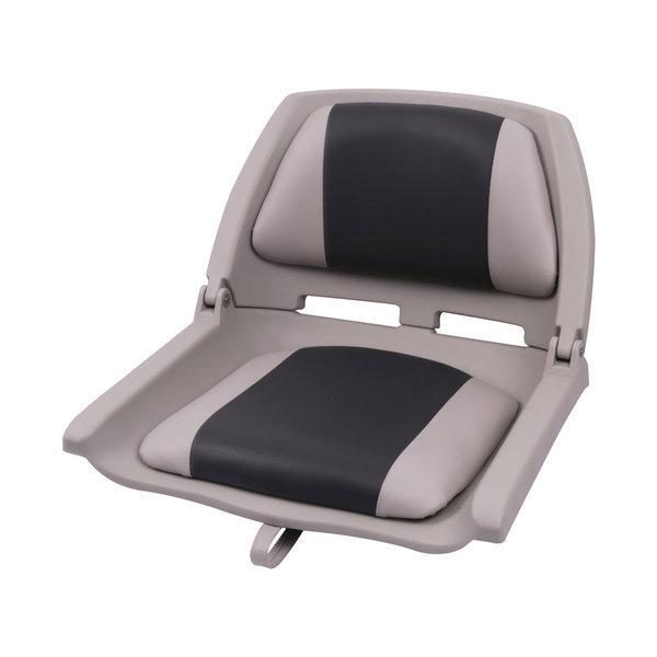 Eggers Folding Poly Seat Gray/Charcoal