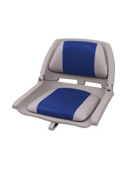 Eggers Folding Poly Seat Gray/Blue