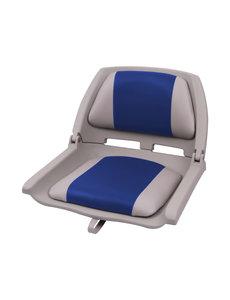 Eggers Folding Poly Seat Grijs/Blauw