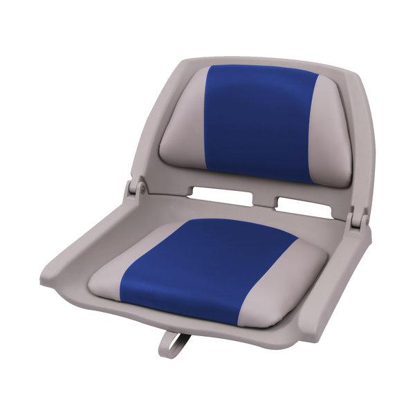 Eggers Folding Poly Seat Grau/Blau